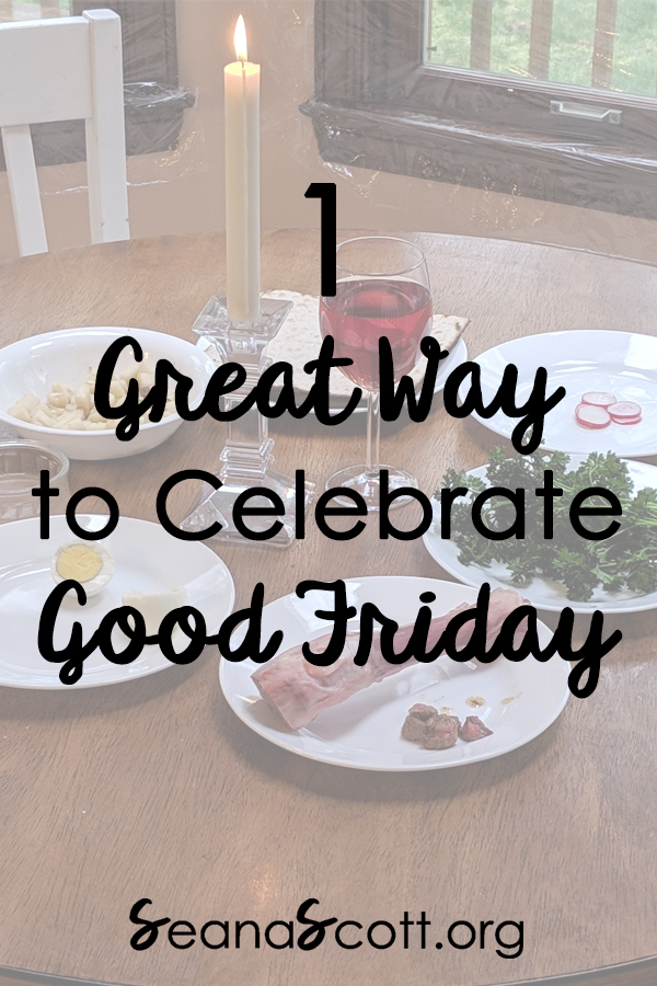 Good Friday Seder Guide (Free Download)